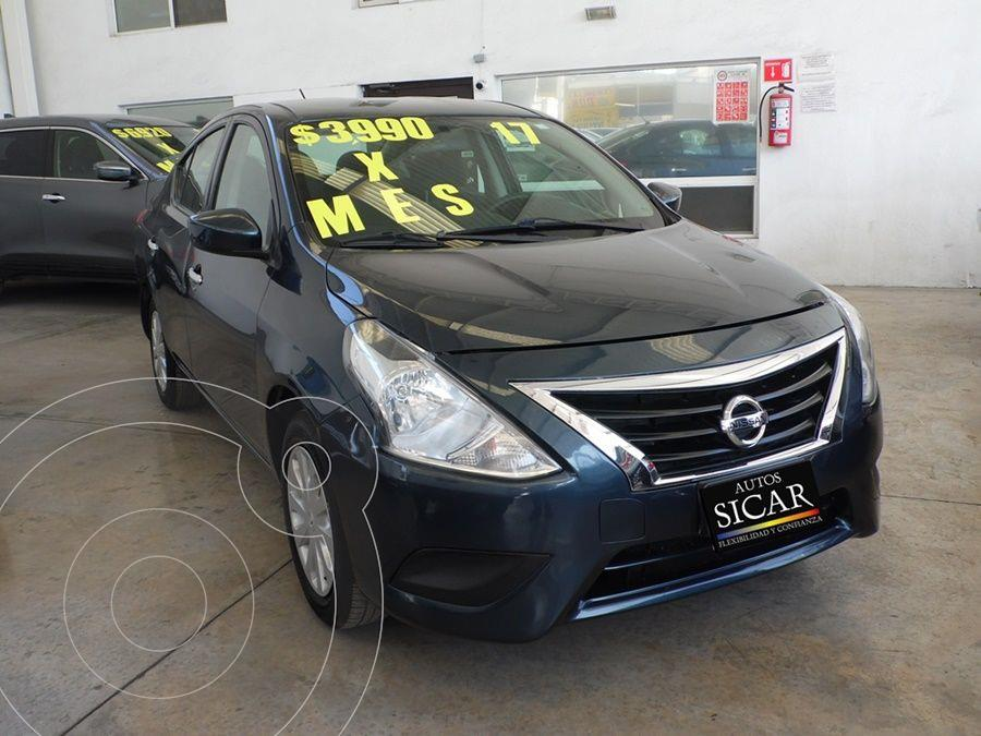 foto Nissan Versa Sense Aut usado (2017) color Azul precio $159,000