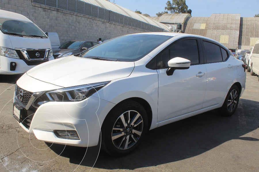 foto Nissan Versa Advance usado (2020) color Blanco precio $272,000