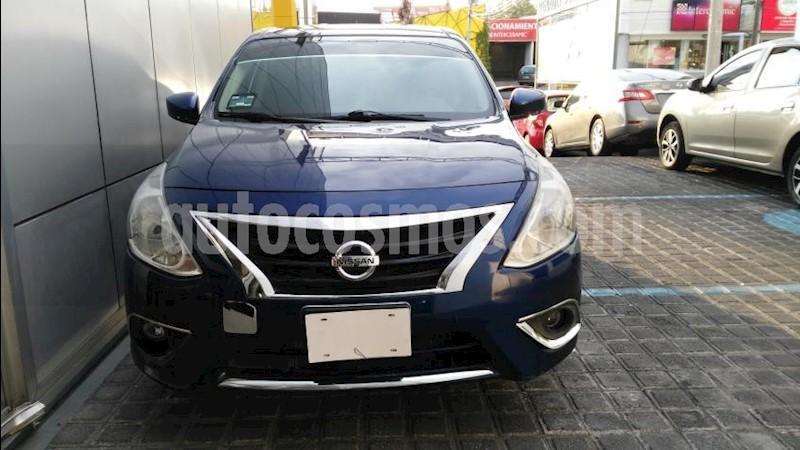 foto Nissan Versa 4P SENSE L4/1.6 MAN usado (2018) color Azul Marino precio $195,000