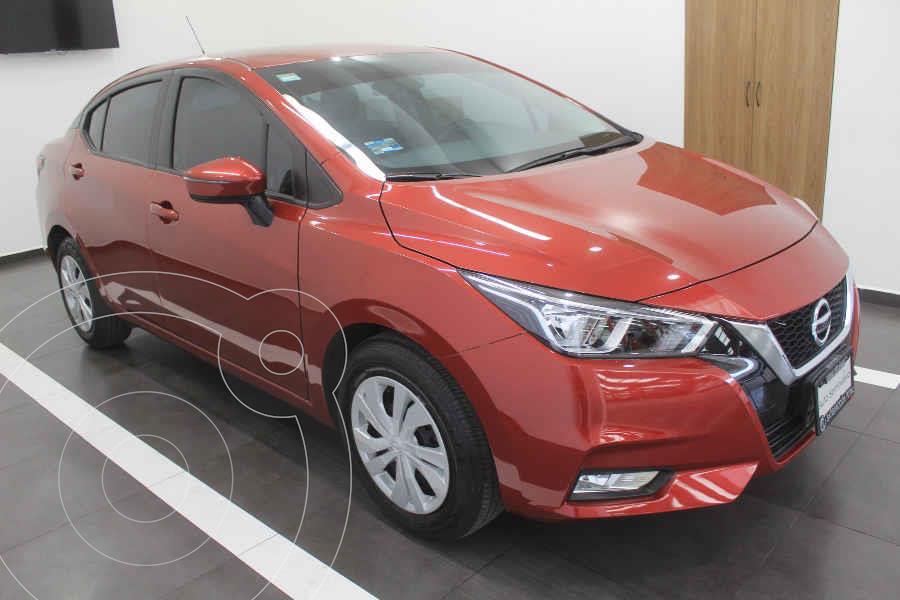 foto Nissan Versa Advance Aut usado (2020) color Rojo precio $289,000