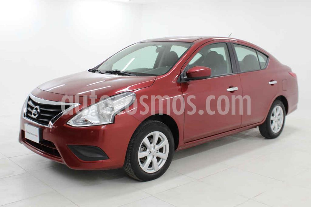 foto Nissan Versa Sense Aut usado (2019) color Rojo precio $184,000