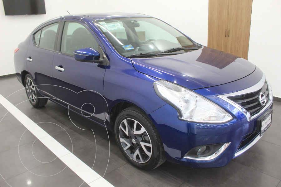 foto Nissan Versa Exclusive Aut usado (2018) color Azul precio $219,000