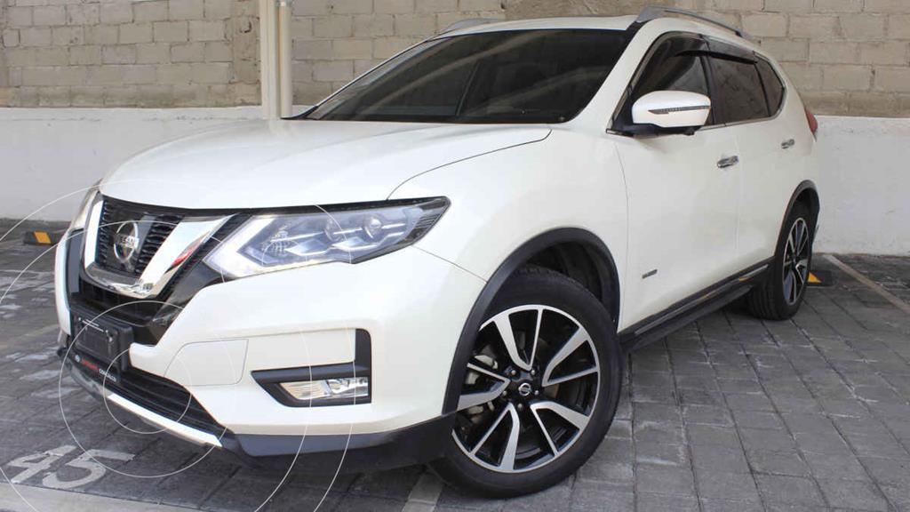 foto Nissan X-Trail Exclusive 2 Row Hybrid usado (2019) color Blanco precio $495,000
