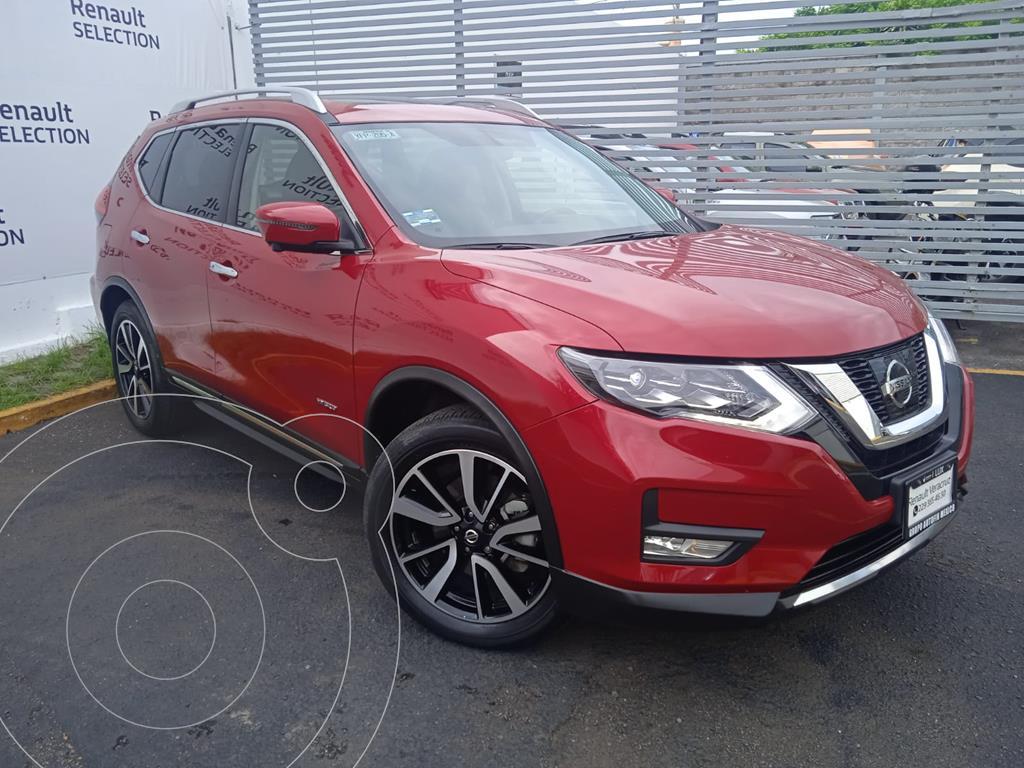 foto Nissan X-Trail Exclusive 2 Row Hybrid usado (2020) color Rojo precio $580,000