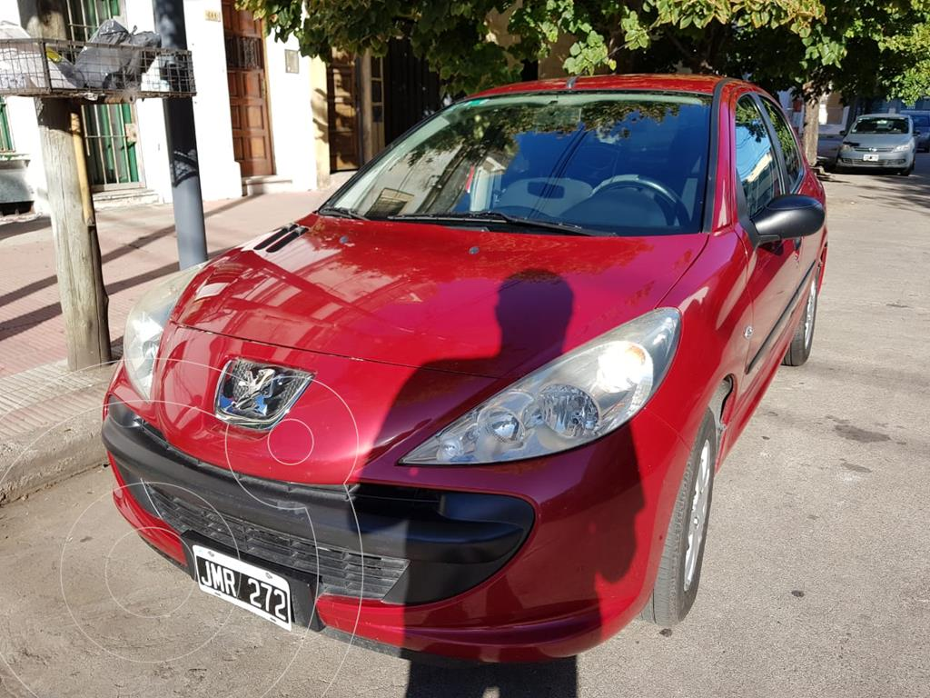 peugeot 207 compact 1.4 xr 5p usado 2011 color rojo lucifer precio 590.000