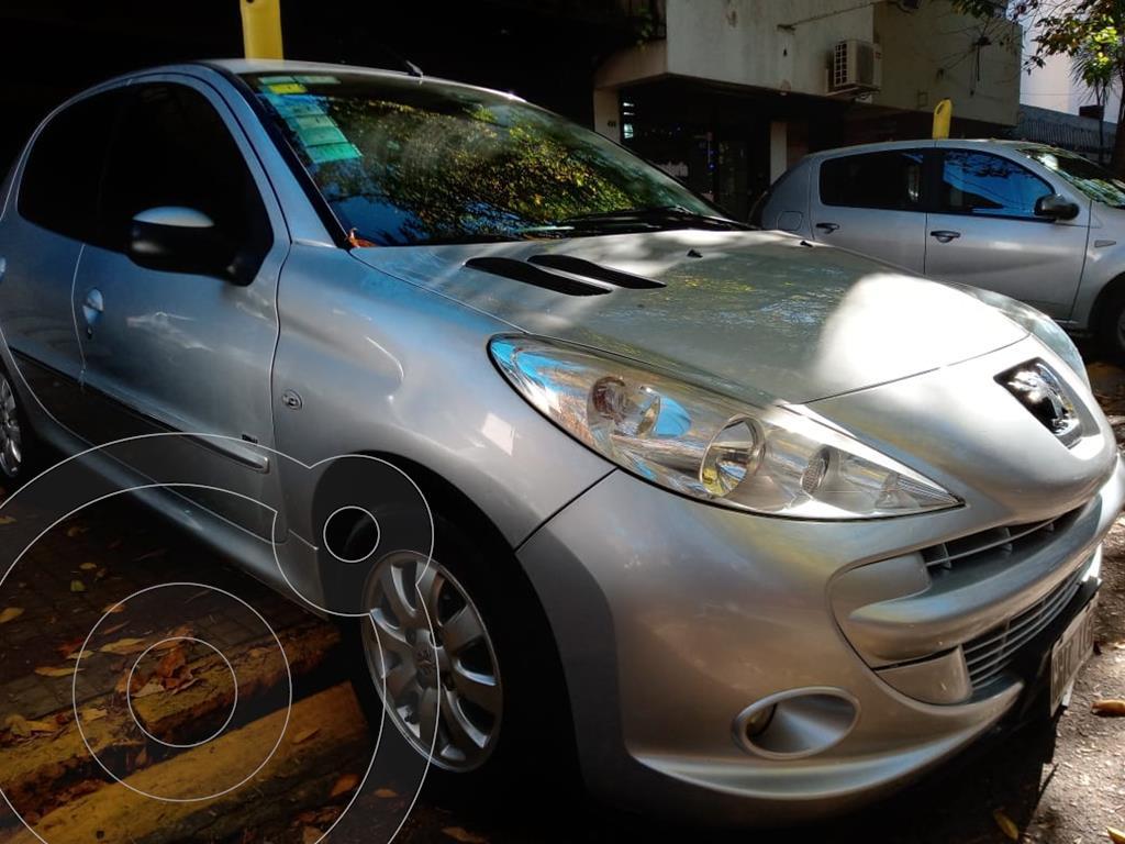 peugeot 207 compact 1.4 hdi xs 4p usado 2013 color gris aluminium precio 790.000