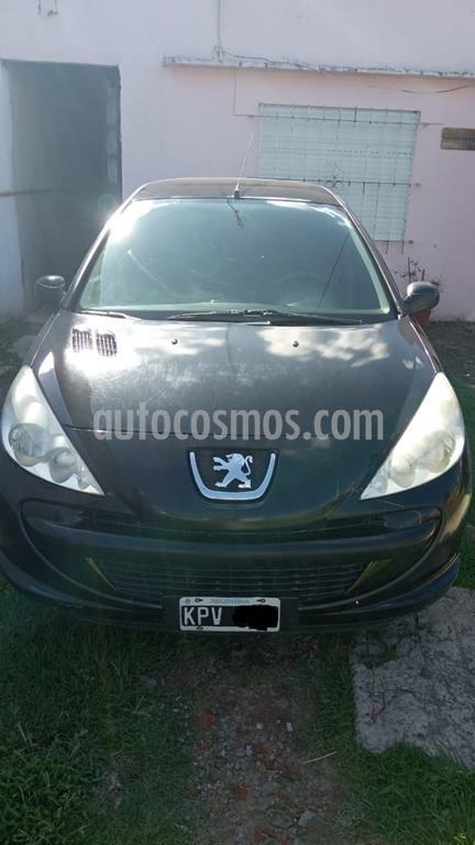 peugeot 207 compact 1.4 active 5p usado 2011 color negro precio 365.000
