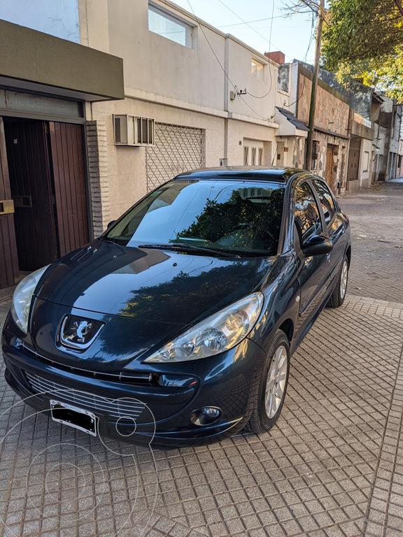 peugeot 207 compact 1.4 hdi feline 5p usado 2012 color azul precio 850.000