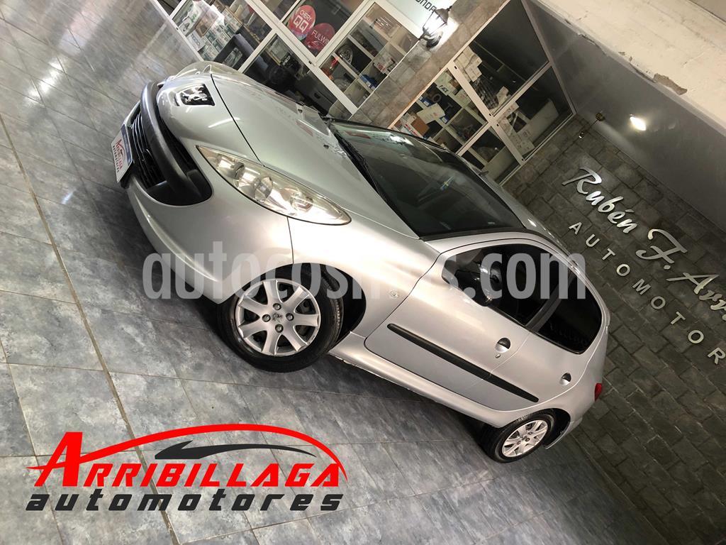 peugeot 207 compact 1.4 xr 5p usado 2010 color gris aluminium precio 670.000