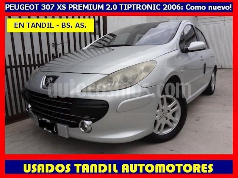 foto Peugeot 307 4P 2.0 XS Premium Tiptronic usado (2006) color Plata precio $430.000