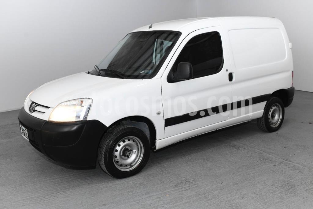 peugeot partner furgon 1.4 confort pcl usado 2014 color blanco precio 780.000