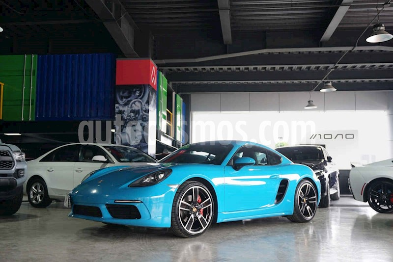 foto Porsche 718 Cayman S usado (2017) color Azul precio $1,250,000