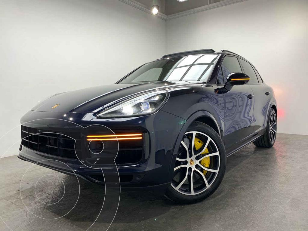foto Porsche Cayenne Turbo Tiptronic usado (2019) color Azul precio $2,100,000