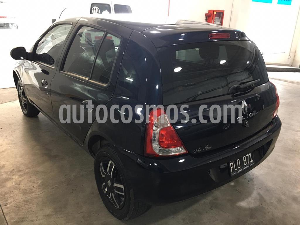 foto Renault Clio Mío 5P Dynamique Sat usado (2014) color Azul precio $499.000
