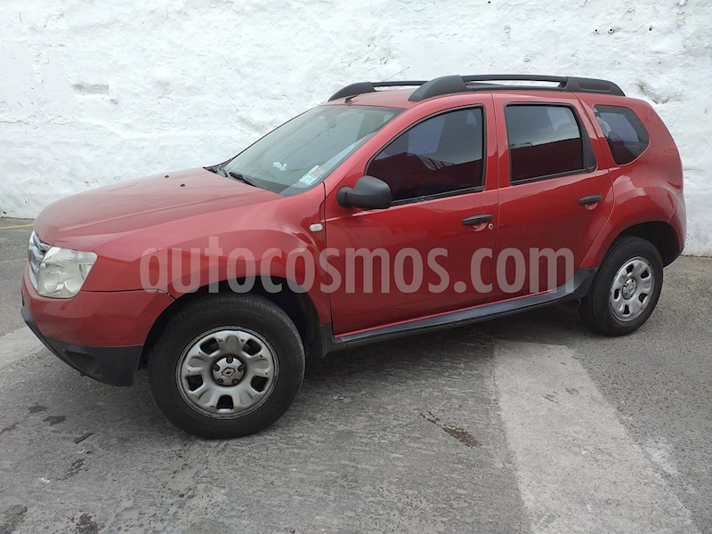 Renault Duster Confort Plus Usado  2013  Color Rojo Precio  420 000