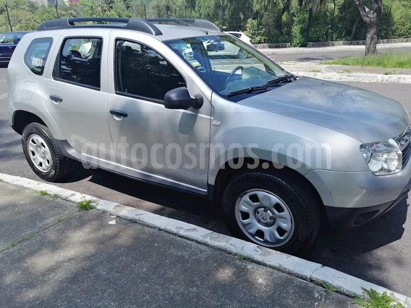 Renault Duster Expression Aut Usado  2013  Color Plata Precio  124 500