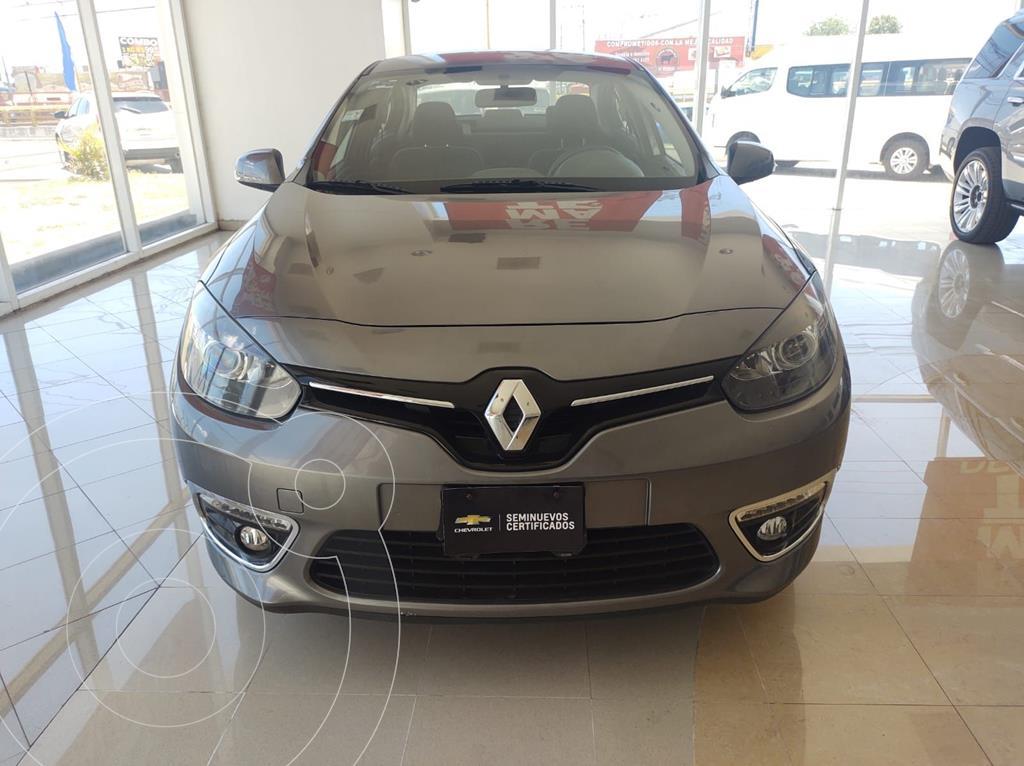 foto Renault Fluence Expression CVT usado (2015) color Gris precio $175,000