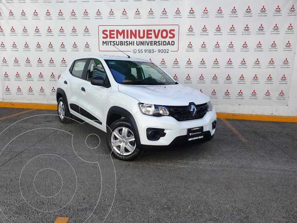 foto Renault Kwid Intens usado (2020) color Blanco Glaciar precio $169,000