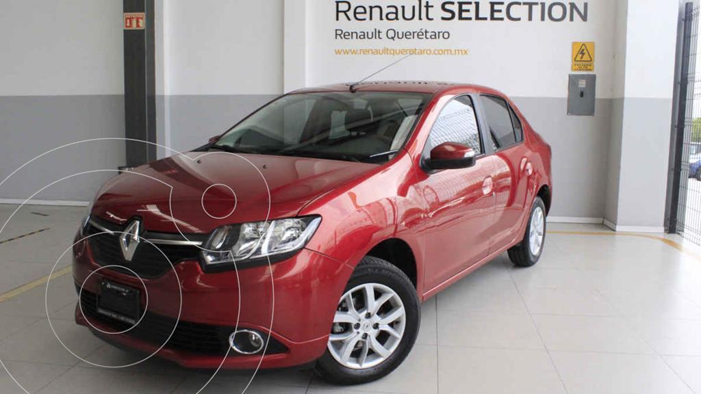 foto Renault Logan Intens usado (2018) color Rojo precio $195,000