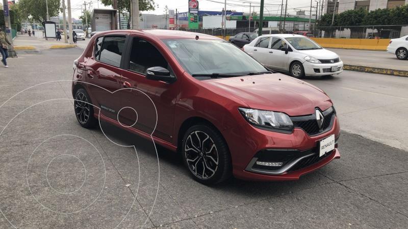 foto Renault Sandero R.S. 5 pts. HB R.S. 2.0l, TM6, a/ac. Aut., VE, ae, al usado (2020) color Rojo precio $285,000