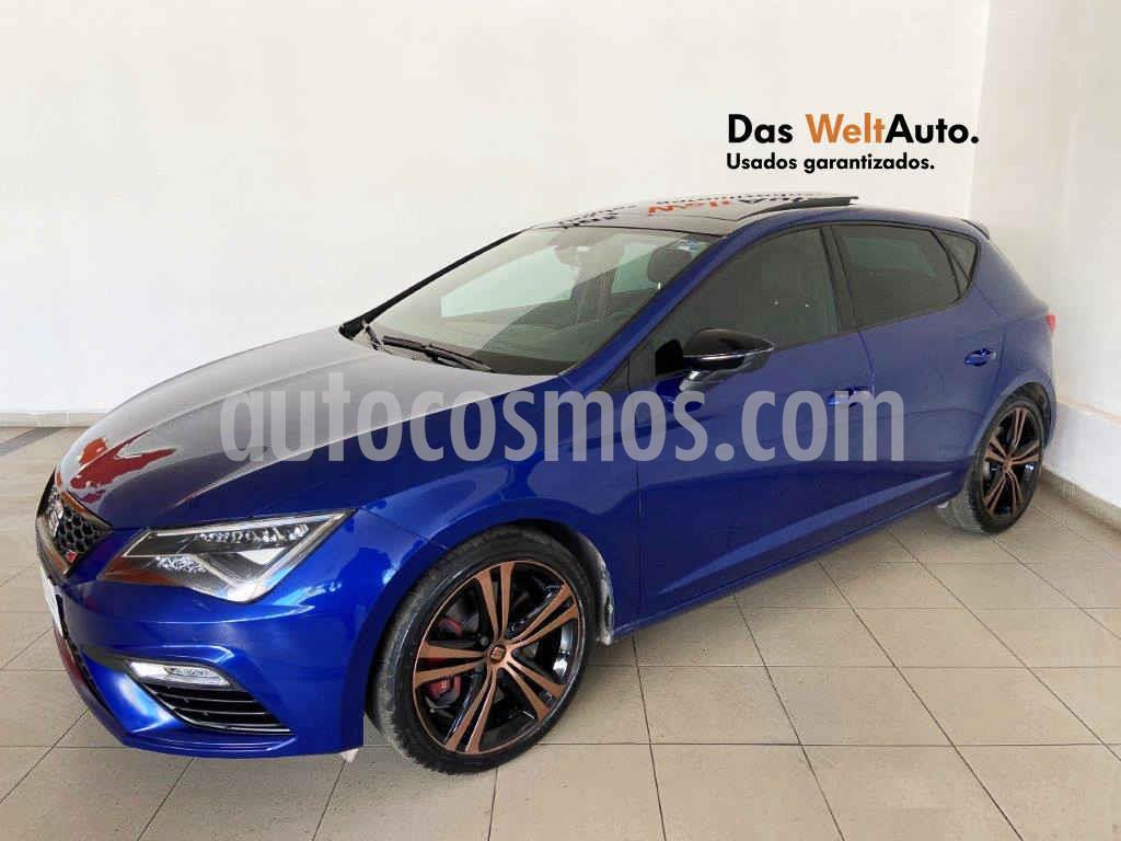 foto SEAT León Cupra usado (2019) color Azul precio $449,995