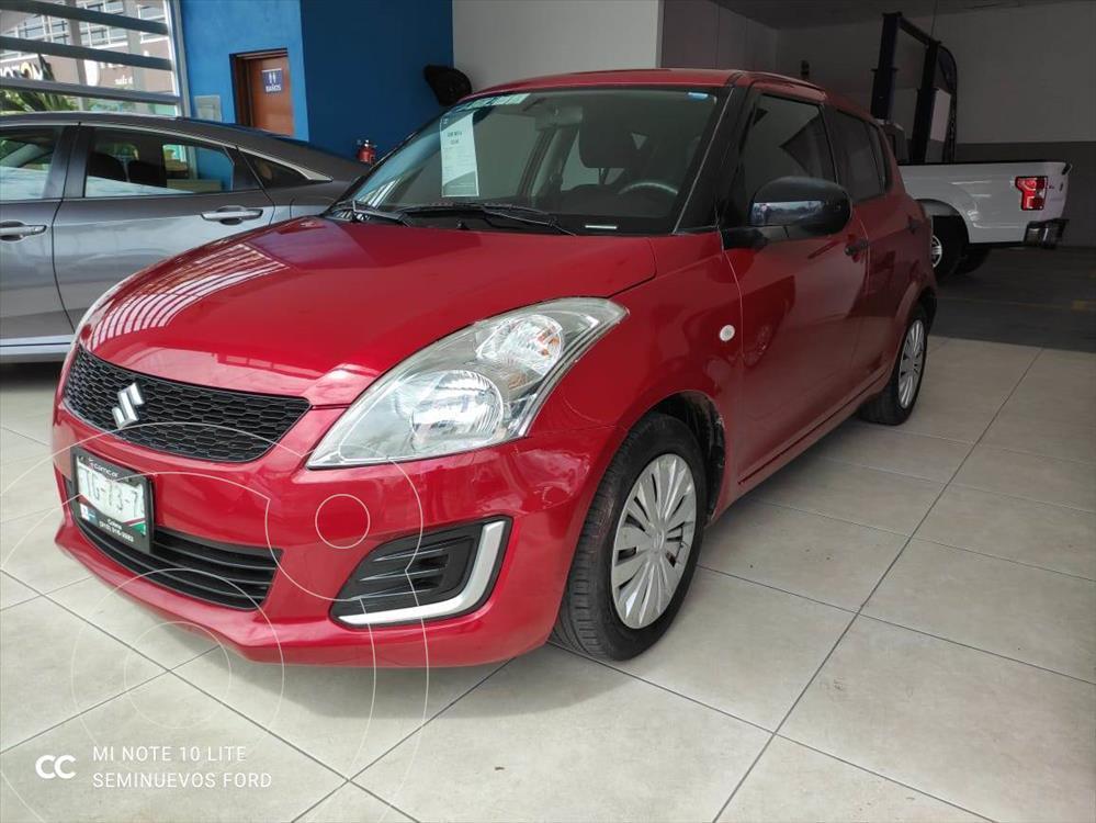foto Suzuki Swift GA TM usado (2014) color Rojo precio $135,000