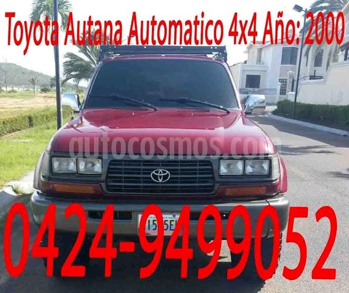 foto Toyota Autana Automatico 4x4  usado