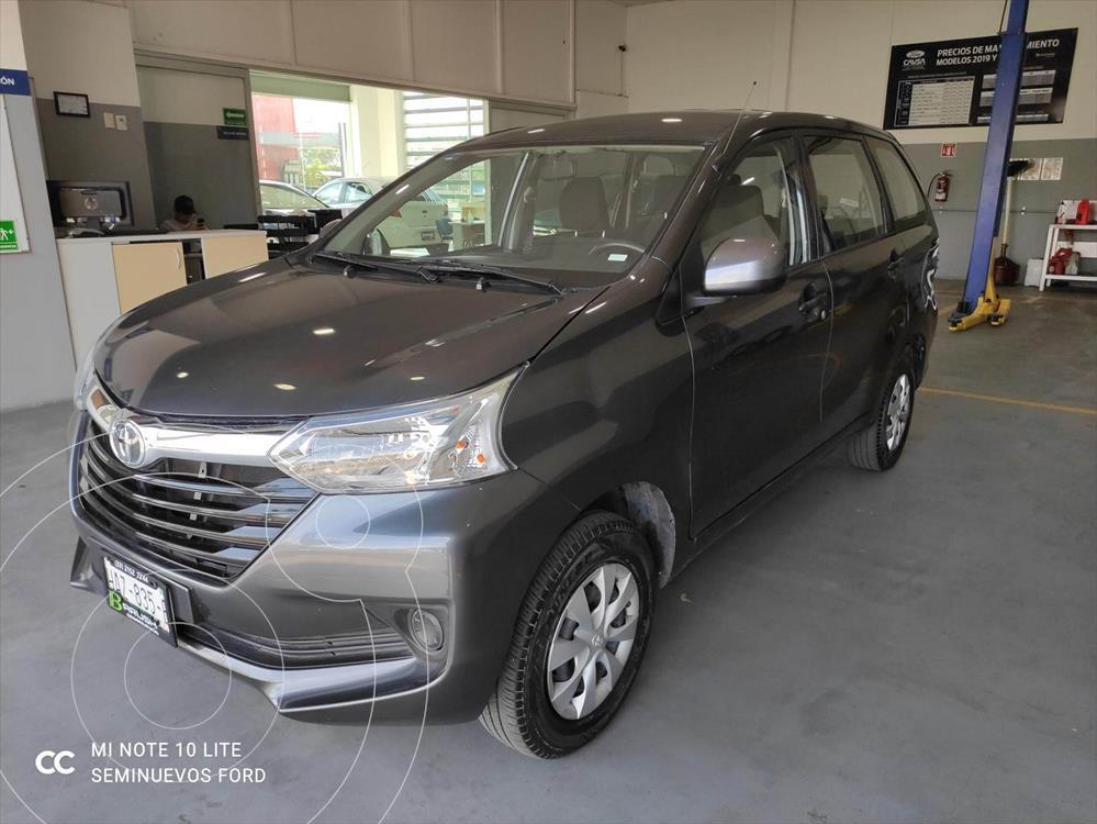 foto Toyota Avanza LE Aut usado (2019) color Gris precio $239,000