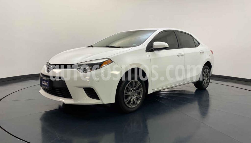 foto Toyota Corolla Base usado (2016) color Blanco precio $209,999