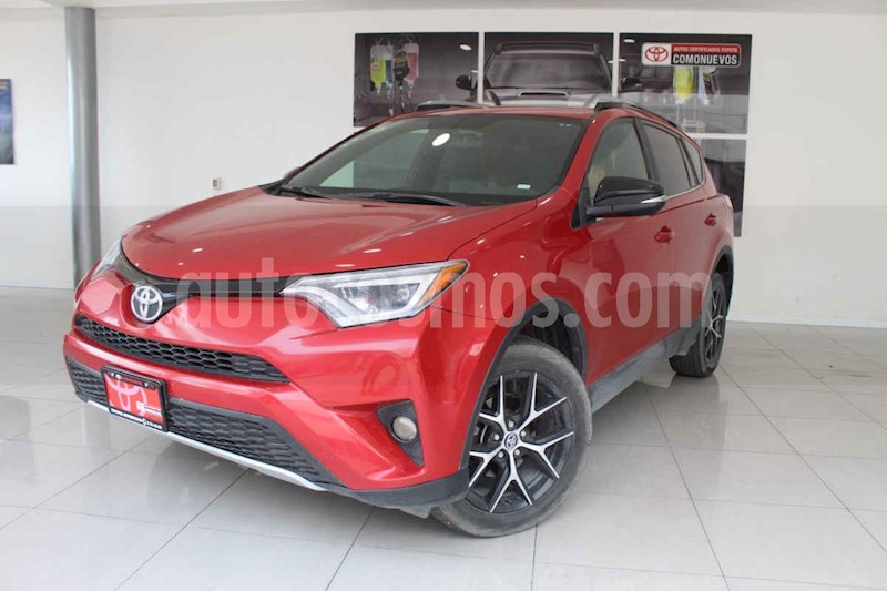 foto Toyota RAV4 5p SE L4/2.5 Aut usado (2017) color Rojo precio $359,000