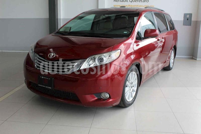 foto Toyota Sienna 5p XLE aut piel Limited q/c DVD usado (2012) color Rojo precio $235,000