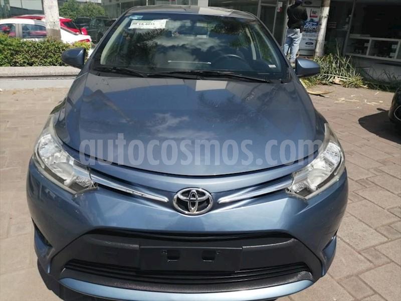 foto Toyota Yaris 5P 1.5L S Aut usado (2017) color Azul Eléctrico precio $174,000