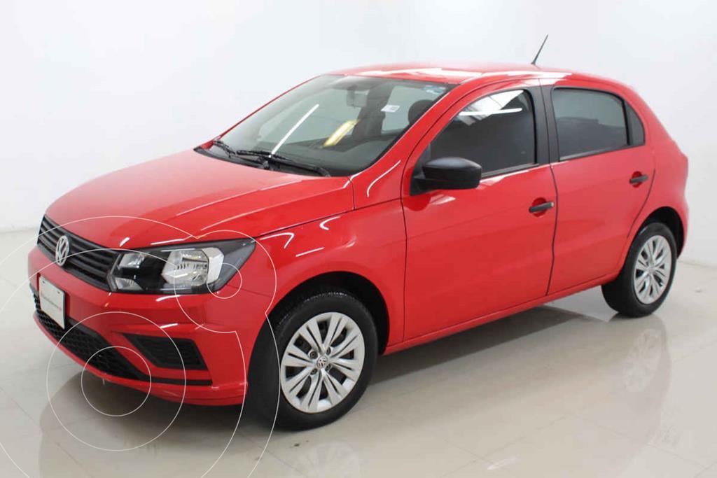 foto Volkswagen Gol Trendline usado (2020) color Rojo precio $225,000