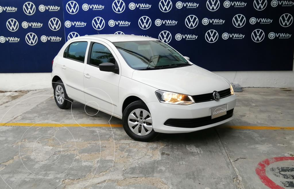 foto Volkswagen Gol I - Motion usado (2016) color Blanco precio $130,000