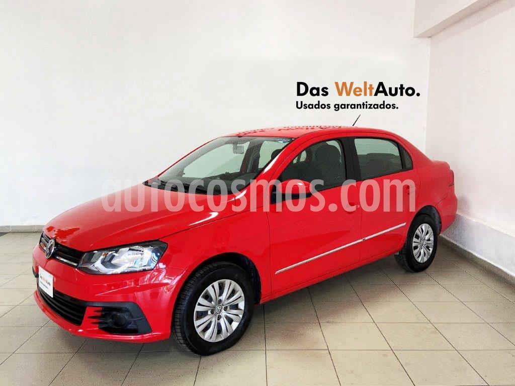 foto Volkswagen Gol Trendline usado (2018) color Rojo precio $164,284