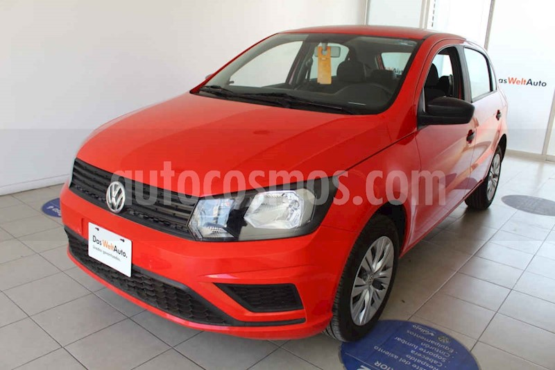 foto Volkswagen Gol Trendline usado (2019) color Negro precio $180,000