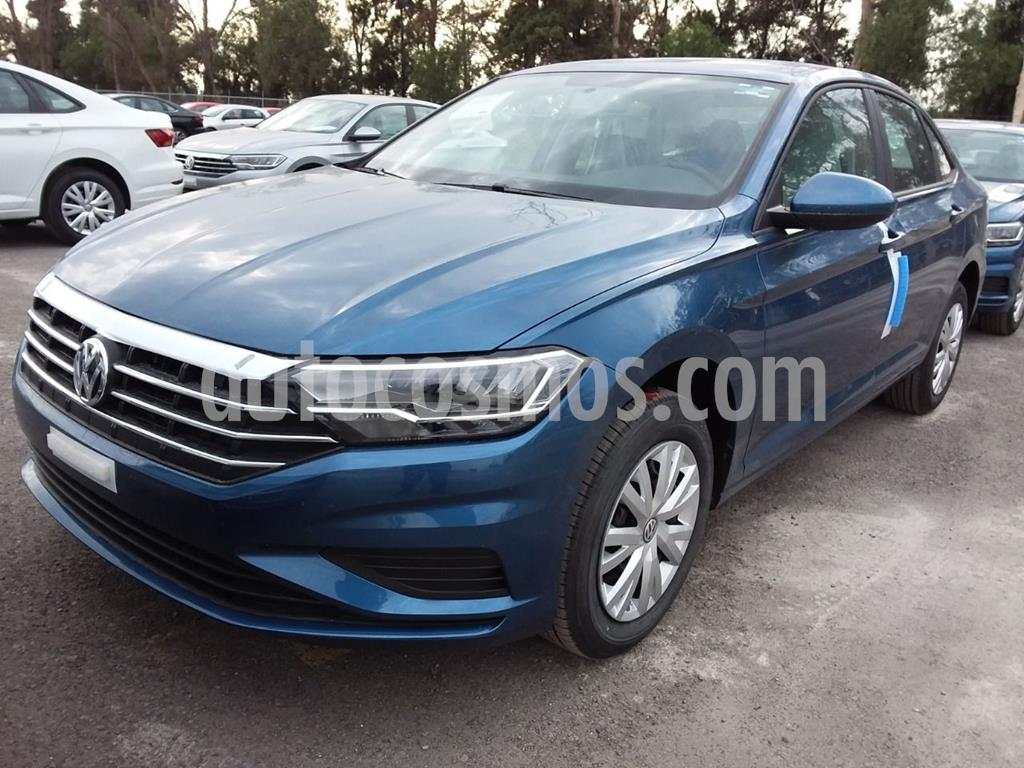 foto Volkswagen Jetta Trendline usado (2020) color Azul precio $319,000