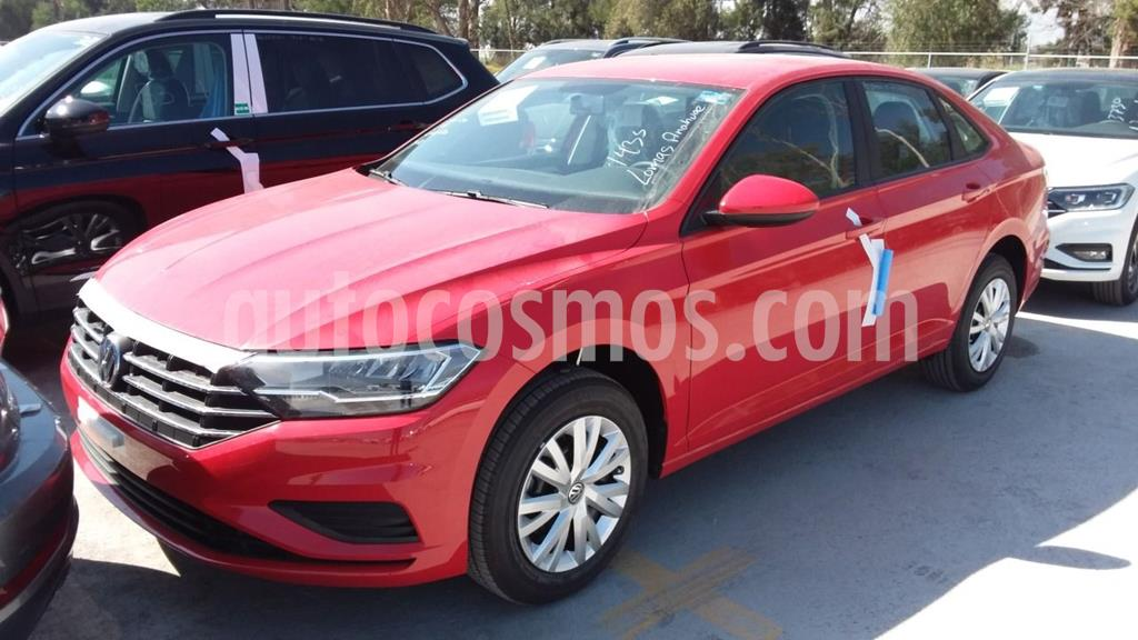 foto Volkswagen Jetta Trendline usado (2020) color Rojo precio $319,000