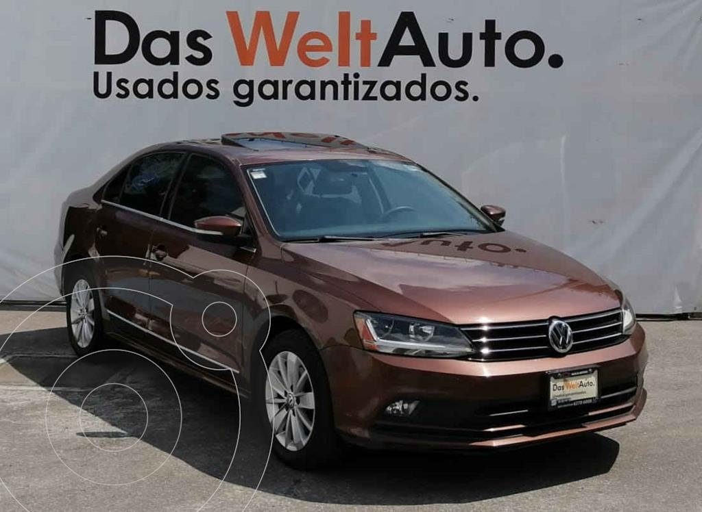 foto Volkswagen Jetta Comfortline usado (2017) color Marrón precio $255,000