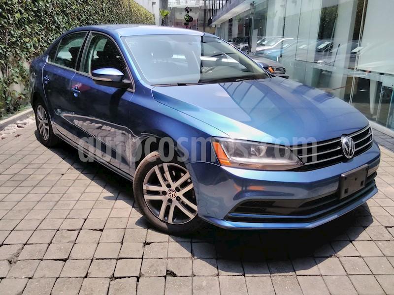 foto Volkswagen Jetta Trendline usado (2017) color Azul precio $205,000