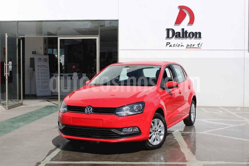 foto Volkswagen Polo 1.6L Base 5P Ac usado (2018) color Rojo precio $174,000