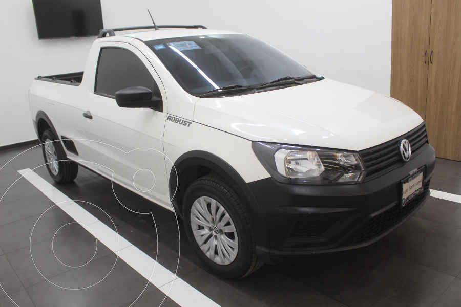 foto Volkswagen Saveiro Robust (Cabina Sencilla) A/A usado (2019) color Blanco precio $225,000