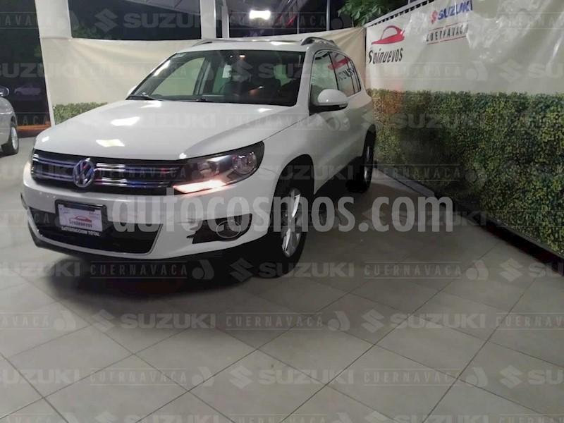 foto Volkswagen Tiguan Track & Fun Piel usado (2012) color Blanco Candy precio $179,000
