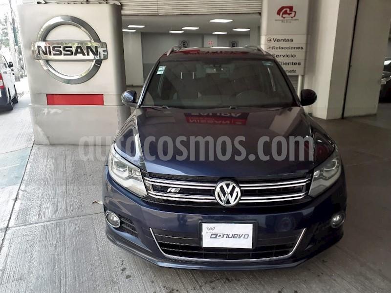 foto Volkswagen Tiguan Track & Fun usado (2015) color Azul Noche precio $292,000