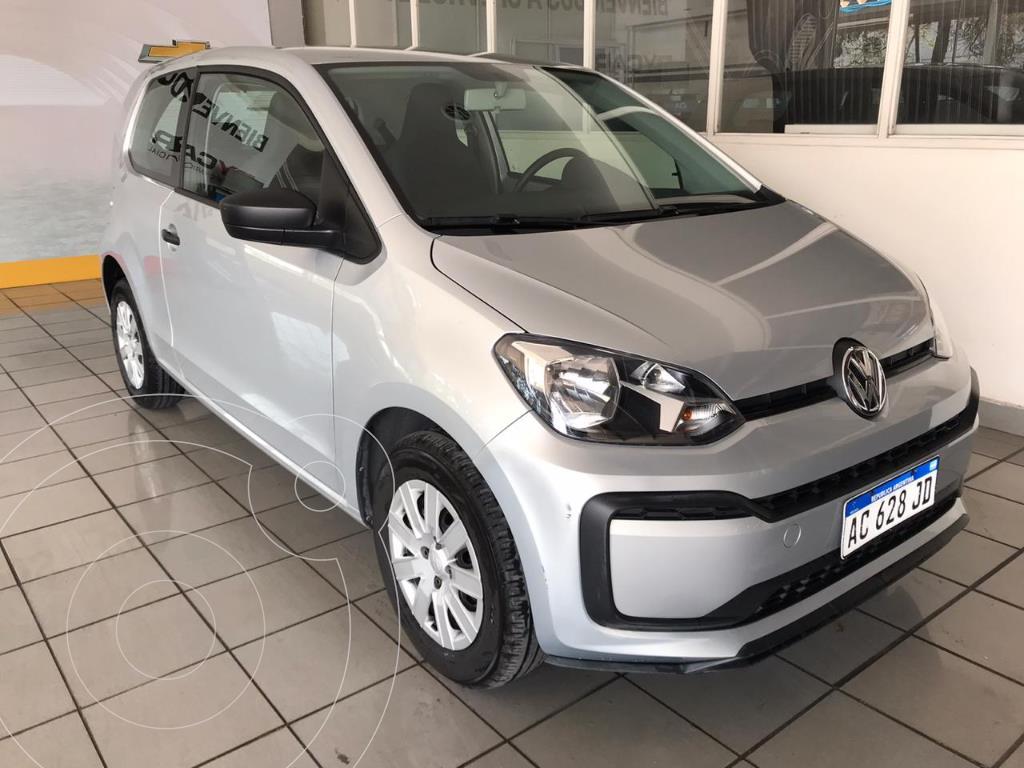 volkswagen up 3p take up usado 2018 color gris claro precio 1.180.000