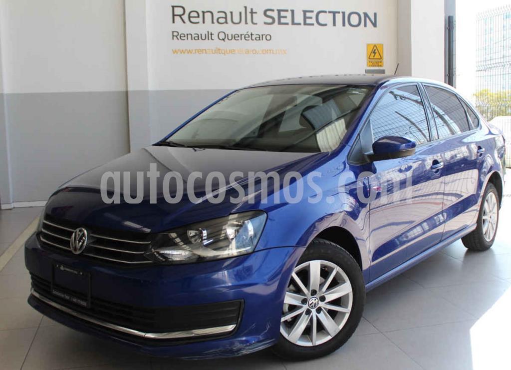 foto Volkswagen Vento Comfortline usado (2019) color Azul precio $199,000