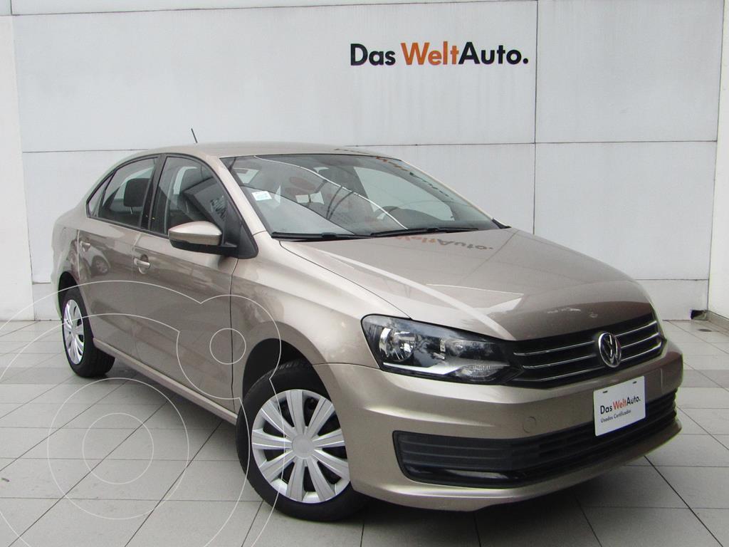 foto Volkswagen Vento Startline Aut usado (2020) color Beige Metalico precio $205,000