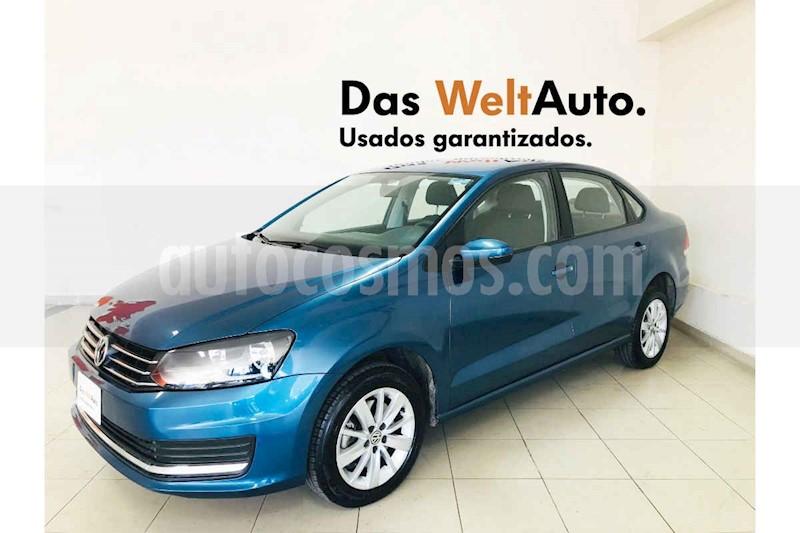 foto Volkswagen Vento 4p Confortline L4/1.6 Man usado (2019) color Azul precio $212,700