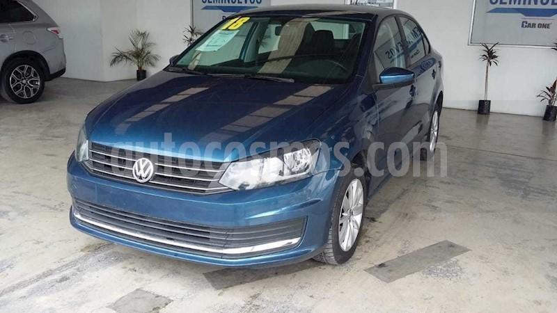foto Volkswagen Vento Startline usado (2017) color Azul precio $185,000