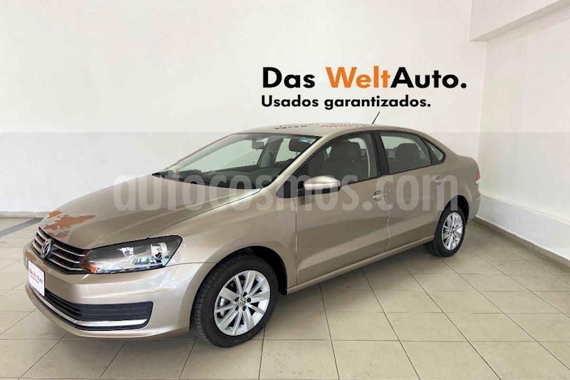 foto Volkswagen Vento 4p Confortline L4/1.6 Man usado (2019) color Beige precio $213,995